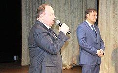 В.Лаптев принял участие всобрании трудовых коллективов иобщественности города Куйбышева Новосибирской области
