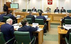 В. Матвиенко: Сенаторам иПравительству РФ предстоит вкороткие сроки отработать законодательное обеспечение «демографического пакета»