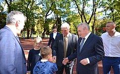 В.Бекетов посетил срабочей поездкой Отрадненский район Краснодарского края