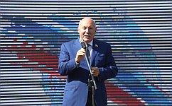 Д.Мезенцев принял участие воВсероссийской акции «Парад студенчества»