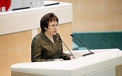 Е.Бибикова: Доклад Председателя СФ стал одним изсамых ярких наФоруме женщин-спикеров парламентов, задал тон дискуссии