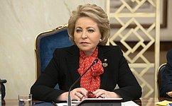 Председатель СФ встретится сруководителями детских театров России