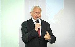 Н.Тихомиров: Вологодский областной суд вносит весомый вклад всохранение экономической иполитической стабильности врегионе