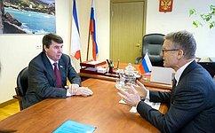 С.Цеков поддержал продолжение гуманитарной миссии Международного Комитета Красного Креста вКрыму
