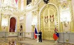 Президент России Владимир Путин провел встречу ссенаторами Российской Федерации. Комментарии парламентариев