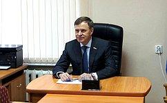 В. Новожилов провел приём граждан