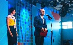М.Щетинин иТ.Лебедева приняли участие вМеждународном молодежном управленческом форуме «Алтай. Точки Роста— 2018»