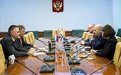 В.Озеров: ВСовете Федерации настроены наукрепление отношений сКнессетом Государства Израиль