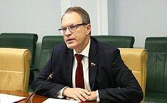 А. Башкин принял участие взаседании правительства Астраханской области