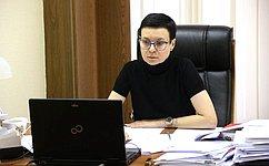 И. Рукавишникова приняла участие взаседании Комиссии ПАСЕ поюридическим вопросам иправам человека