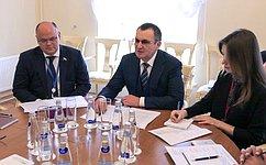 Н. Федоров врамках 137-й Ассамблеи МПС провел встречу сглавой национальной делегации Кипра