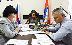 Е. Алтабаева входе приема граждан обсудила социальную тематику, атакже вопросы благоустройства