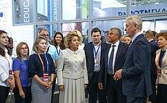 В.Матвиенко отметила важность инновационных социальных проектов для повышения качества жизни граждан
