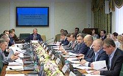Развитие нефтегазового комплекса имодернизацию ТЭК рассмотрел Комитет СФ поэкономической политике врамках Дней ХМАО-Югры