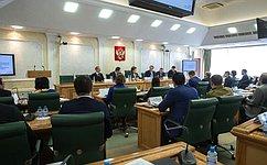 Заместитель Председателя Правительства РФ В.Мутко ответил навопросы членов Палаты молодых законодателей при Совете Федерации