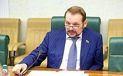 С.Белоусов: Гармонизация законодательства вобласти экологической безопасности– одно изключевых направлений работы России иБеларуси