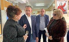 О. Алексеев входе работы вСаратовской области обсудил вопросы ремонта дорог, подготовки котопительному сезону