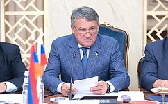 Yury Vorobyov: Russian and Armenian MPs should support civil society organisations aimed at promoting Russia-Armenia friendship and understanding