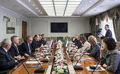 Вице-спикер СФ Ильяс Умаханов встретился сэкс-президентом Болгарии Георгием Пырвановым