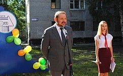 С.Белоусов посетил Алтайский архитектурно-строительный колледж