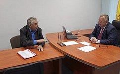 Прием граждан позволяет выявить наиболее острые проблемы жителей инаправить необходимые силы наих решение— В.Николаев