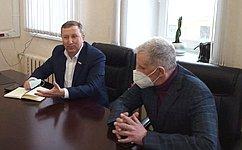С. Березкин обсудил вопросы развития регионального здравоохранения вЯрославской области