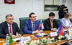 Регулярный межпарламентский обмен вывел отношения России иКамбоджи наболее высокий уровень— Н.Федоров