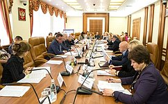 В. Тимченко провел «круглый стол» натему повышения эффективности реализации полномочий федеральных парламентариев
