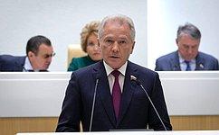 В. Пономарев отчитался освоей работе вкачестве полномочного представителя СФ вЦентральной избирательной комиссии за2019год