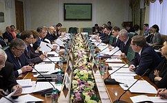 Ю. Воробьев провел заседание Организационного комитета поподготовке Третьего форума регионов России иБелоруссии