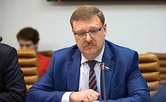 К.Косачев: Отвзаимодействия ивзаимопонимания между Россией иГерманией зависит очень многое
