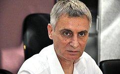 С. Фабричный встретился сновгородскими журналистами