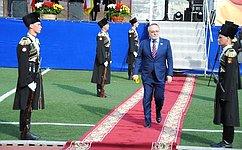 А.Тотоонов поздравил Анатолия Бибилова совступлением вдолжность Президента Государства Алания