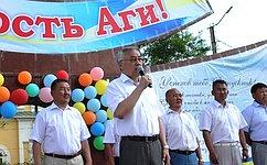 Б. Жамсуев поздравил выпускников Забайкальского края