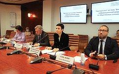 ВСовете Федерации состоялся «круглый стол» натему «Влияние информационной среды наобщественное сознание»
