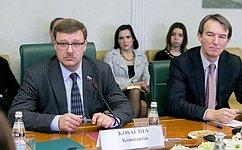 К.Косачев: Вроссийско-американских отношениях фактор парламентской дипломатии по‑прежнему невостребован