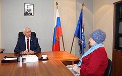 Н. Тихомиров: Деятельность всех органов власти должна быть направлена нарешение конкретных вопросов, волнующих граждан