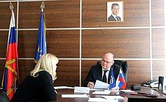 А. Дмитриенко обсудил сжителями Пензенской области вопросы социальной защиты, трудового ижилищного законодательства