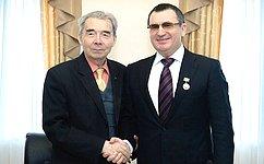 Н.Федоров принял участие втворческой встрече писателя иисторика М. Юхмы считателями