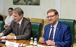 К. Косачев: Диалог между Россией иГерманией непрерывается