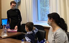 Т. Кусайко: Акция направлена наобеспечение детей изнуждающихся семей компьютерами идругими устройствами для дистанционного обучения