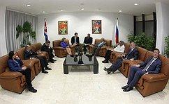 Россия иКуба подтвердили обоюдный настрой наразвитие отношений стратегического партнерства