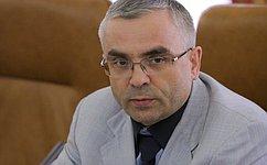 В. Пичугов принял участие ввыездном заседании Комитета Совета Федерации поРегламенту иорганизации парламентской деятельности