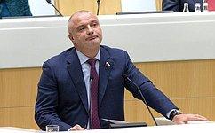 А.Клишас: Если решение обисключении России изСЕ будет принято, это поставит под сомнение будущее всей системы европейской дипломатии