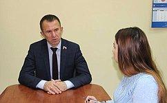 В.Кравченко: Ниодна проблема граждан недолжна остаться без внимания