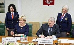 ВСФ подписано Соглашение овзаимодействии между Аппаратом Совета Федерации иАппаратом Госсовета Республики Крым