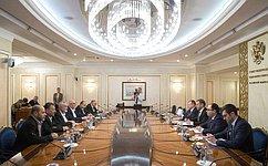 К.Косачев провел встречу спредседателем Политбюро палестинского движения ХАМАС И.Ханией