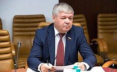 Ю. Неёлов рассказал назаседании Комиссии Совета законодателей обосновных направлениях работы Комитета СФ поэкономической политике