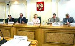 В. Матвиенко: Направление наработу вТаджикистан российских учителей— уникальный гуманитарный проект