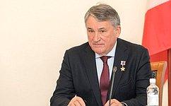 Ю. Воробьев: Образовательный центр «Корабелы Прионежья» стал одной източек роста Вытегорского района